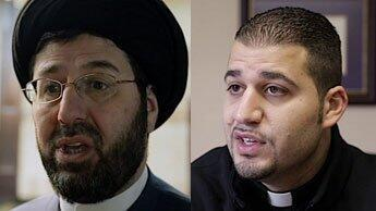 L'imam Hassan Qazwini et le Père Anthony Kathawa