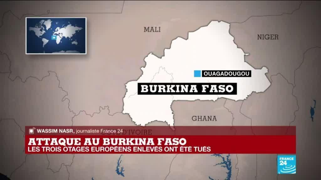 2021-04-27 14:31 Attaque au Burkina Faso : les trois Européens disparus dans une embuscade ont été tués par des terroristes