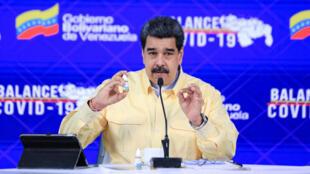 El presidente Nicolás Maduro presentó el Carvativir el 24 de diciembre