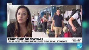 2020-04-02 17:04 Pandémie de Covid-19 : Des milliers de Français toujours bloqués à l'étranger