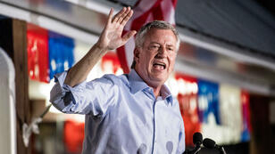 Le maire de NewYork, Bill deBlasio, a renoncé à briguer l'investiture démocrate.