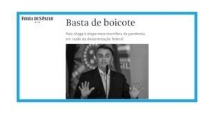 Le président brésilien Jair Bolsonaro