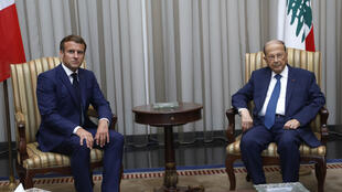 Macron-Liban-Aoun