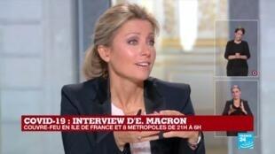 2020-10-14 19:55 REPLAY - Les réponses d'Emmanuel Macron face à la deuxième vague de Covid-19