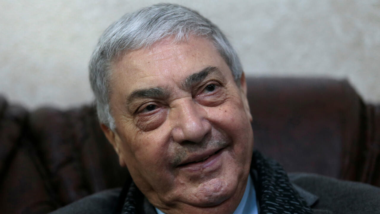 Le candidat Ramzi Boudina lors de la campagne électorale.