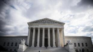 مبنى المحكمة العليا في واشنطن بتاريخ 24 كانون الأول/ديسمبر 2018