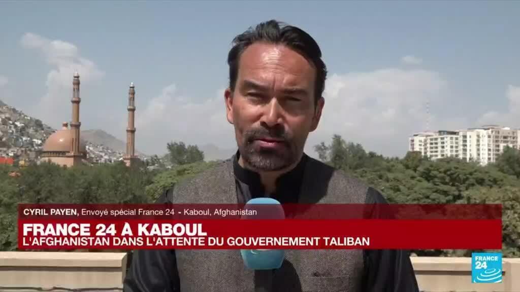 """2021-09-03 08:01 France 24 à Kaboul : """"La question d'un gouvernement inclusif ne se posait même pas pour Qari Yusuf Ahmadi."""""""