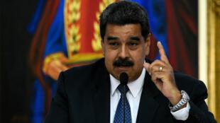 Le président Maduro, au pourvoir au Venezuela depuis 2013.