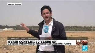 2021-03-15 10:01 Syria conflict 10 years on: A decade after uprising, refugees face uncertain future