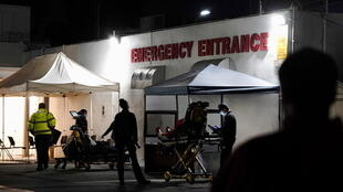 Los Angeles hospital emergency covid-19