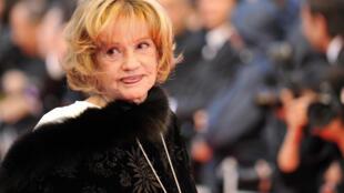 French screen legend Jeanne Moreau died in 2017