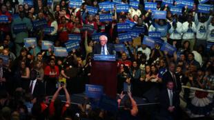 Bernie Sanders dans le New Jersey, le 9 mai 2016.