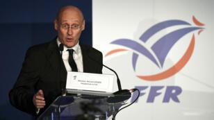 Bernard Laporte, président de la Fédératio française de rubgy.