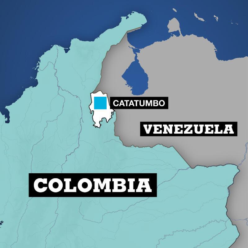 El Catatumbo es una zona estratégica en el norte de Colombia, una región con presencia de distintos grupos armados y cultivos ilícitos en la frontera con Venezuela.