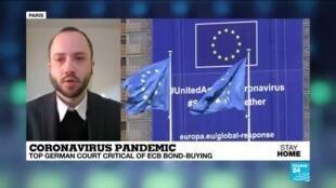 2020-05-07 08:07 Coronavirus Pandemic: Top German Court Critical of ECB Bond-Bying from 2015