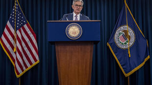 El presidente de la Reserva Federal Jerome Powell en Washington el 3 de marzo de 2020