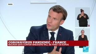 2020-10-14 20:25 REPLAY - Coronavirus in France: 'We have to be better at tracking the virus', says Macron