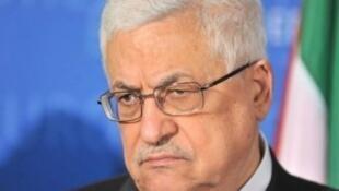 Le président palestinien Mahmoud Abbas