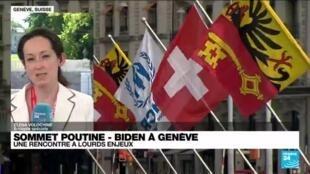 2021-06-16 11:01 Sommet Poutine - Biden à Genève : quel sera le programme des discussions ?