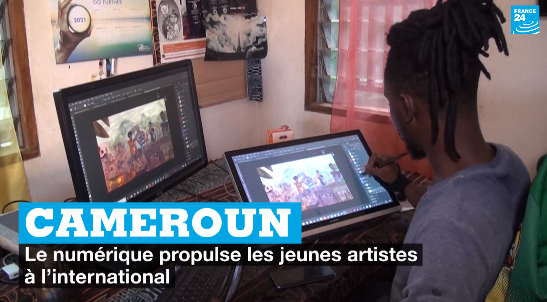 Cameroun : le numérique propulse les jeunes artistes à l'international