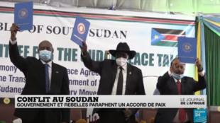 Un accord de paix a été signé entre les rebelles du Darfour et le gouvernement soudanais