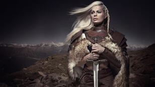 Oui, cette image d'illustration est un cliché. Mais quand même, une femme guerrière viking, ça méritait quelque chose de classe.