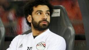 المهاجم المصري المصري محمد صلاح، نجم ليفربول.