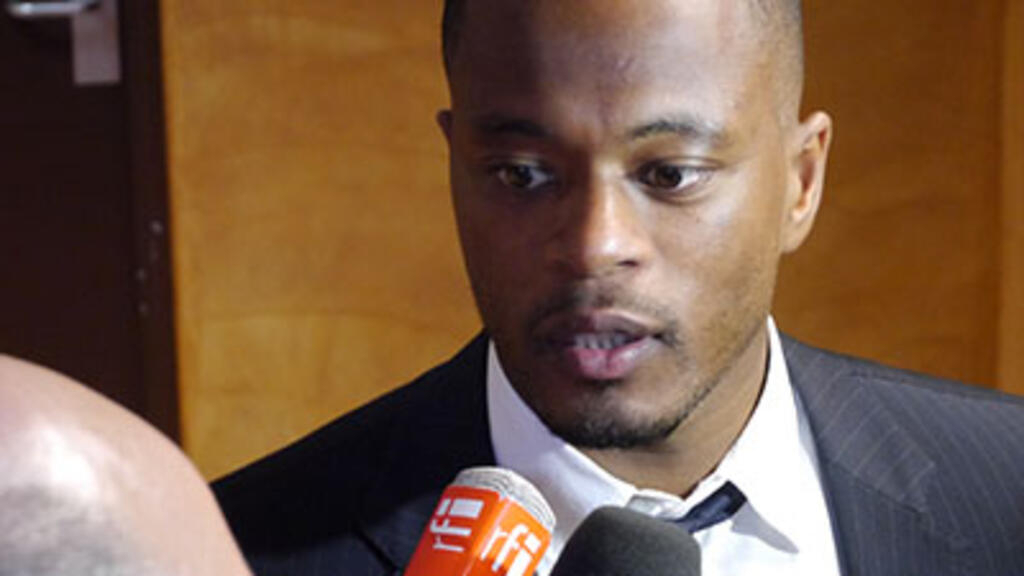French football star Patrice Evra says he was sexually abused as a teen
