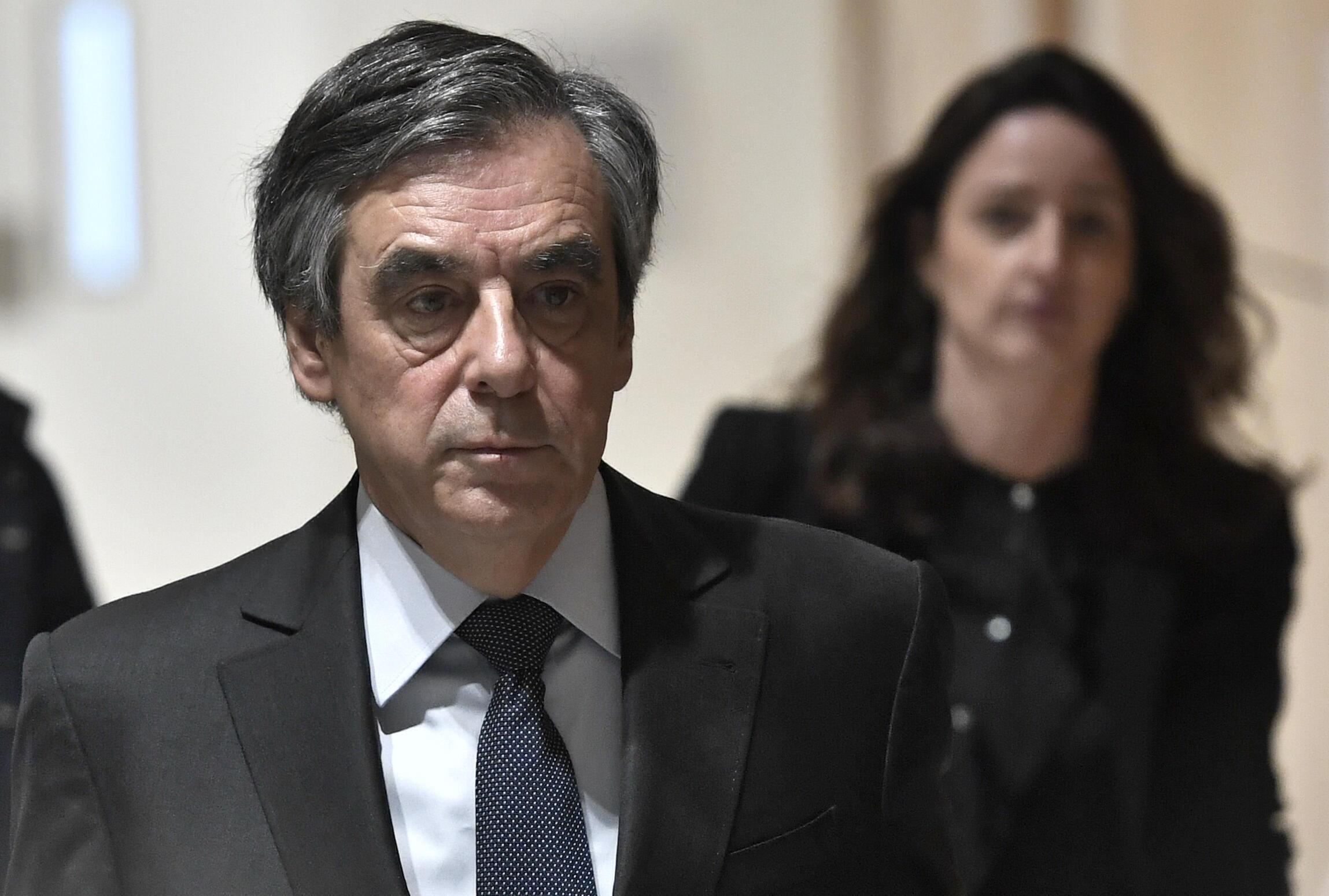 François Fillon arrive à son procès à Paris le 24 février 2020