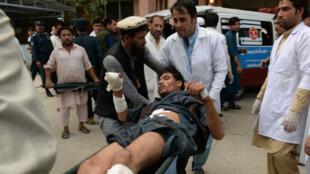 هجوم استهدف تجمعا انتخابيا في جلال أباد شرق أفغانستان. 2 تشرين الأول/أكتوبر 2018.