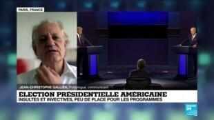 2020-09-30 13:18 Elections présidentielle américaine : peu de place pour les programmes