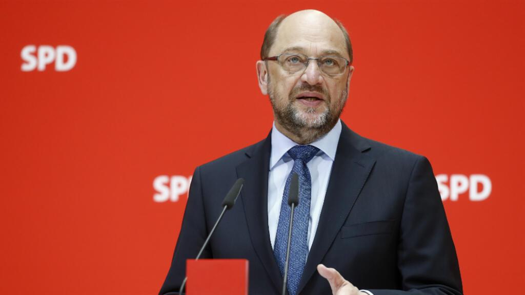 Le candidat du SPD, Martin Schulz, à la Chancellerie, le 30 mai 2017.