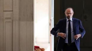 Le Premier ministre français Edouard Philippe le 14 avril 2020