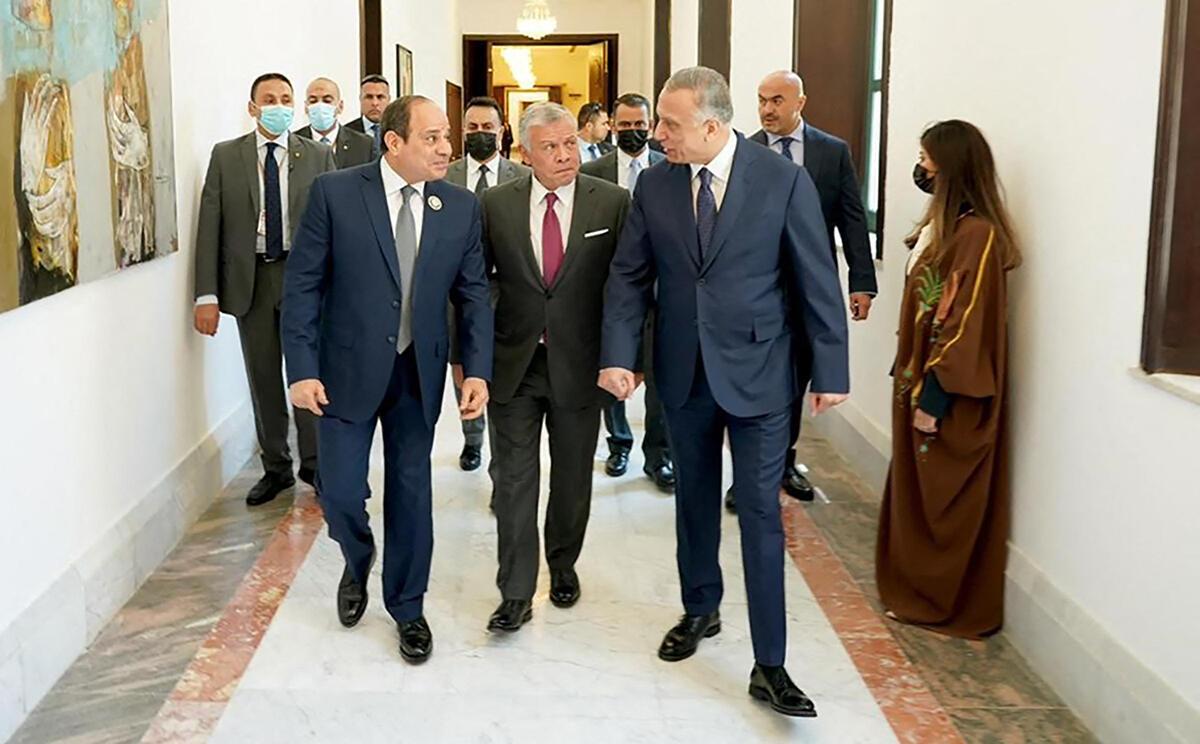 Sommet Bagdad