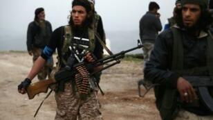 عفرين - مقاتلون سوريون مدعومون من أنقرة