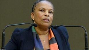 La ministre de la justice Christiane Taubira