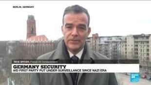 2021-03-04 14:09 German far-right AfD first party put under surveillance since Nazi era