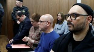 كيريل سيريبرينيكوف خلال محاكمته