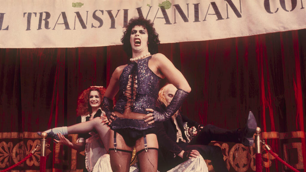 """""""The Rocky Horror Picture Show"""", 1975."""