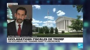 2020-07-10 06:01 États-Unis : Une décision de la Cour suprême qui sauve la campagne de Donald Trump