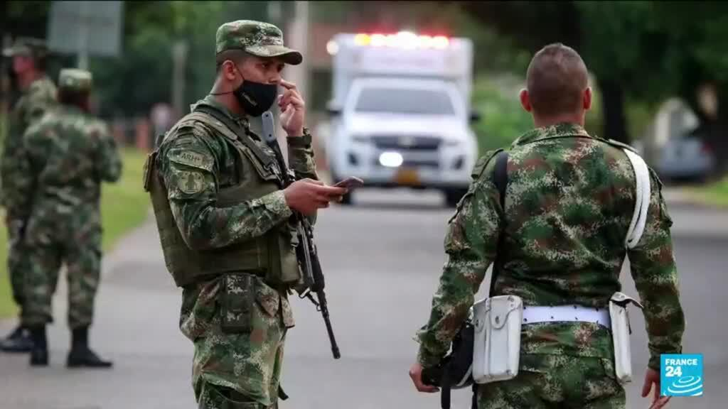 2021-06-16 12:08 Car bomb attack at Colombian military base wounds 36