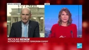 "2019-11-13 13:32 Nicolas Hénin ""The terrorist threat is still quite high"""