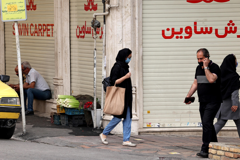 Iran economy street