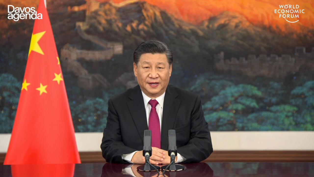 Xi Warns Davos Against 'New Cold War'…