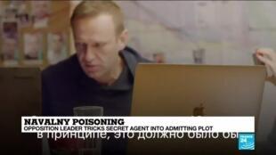 2020-12-22 10:10 Russia: Navalny tricks secret service into revealing details of botched poisoning plot