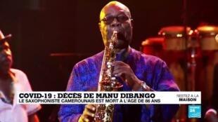 2020-03-24 13:10 La légende du jazz, Manu Dibango est décédé du coronavirus à l'âge de 86 ans