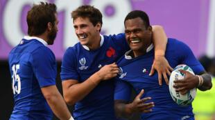 Les Bleus ont fait le travail face aux Tonga et rejoignent les quarts.