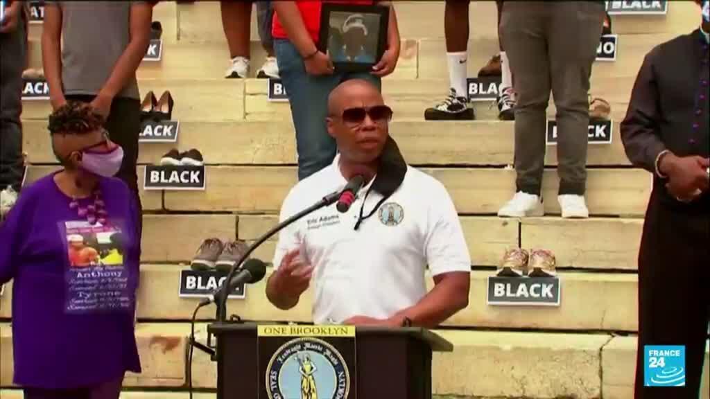 2021-07-07 18:20 Eric Adams, the vegan ex-cop set to become New York's second Black mayor