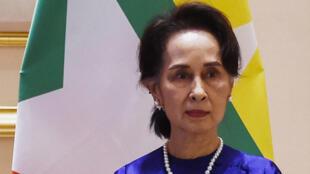 Aung San Suu Kyi en 2020