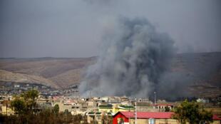 الحرب في سوريا والعراق تحصد أرواح مئات المدنيين.